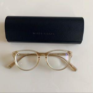 Warby Parker Jane Eyeglasses Clear Crystal